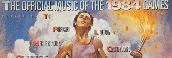 1984 Various – The Official Music Of The 1984 Games