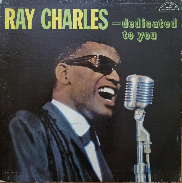 1961 Ray Charles – Dedicated To You