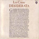Crane, Les 1971