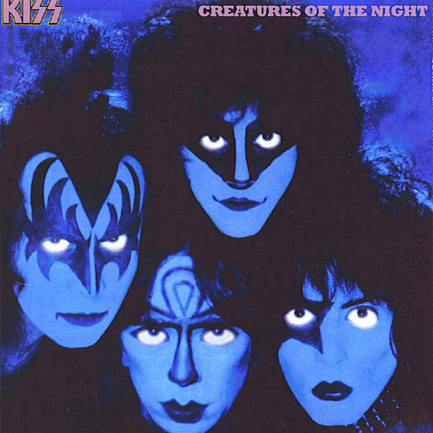 Kiss Band Members With Makeup: Creatures Of The Night