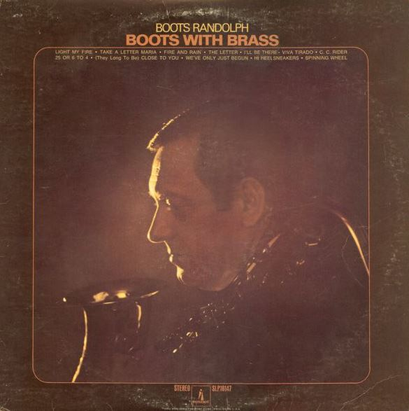 1970 Boots Randolph – Boots With Brass