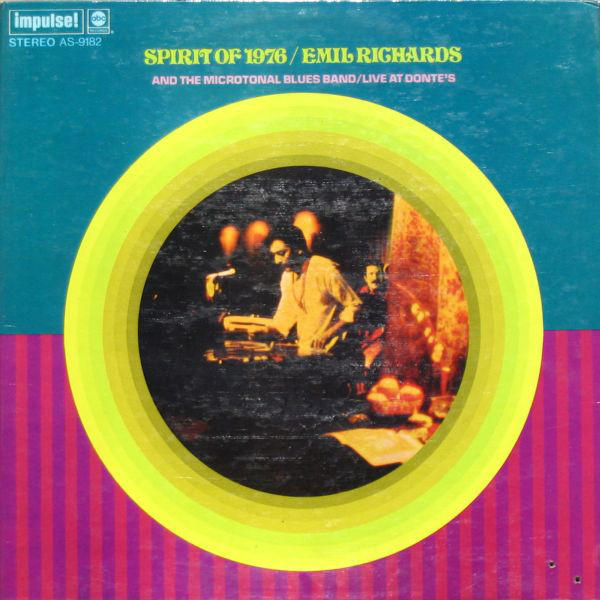 1969 Emil Richards & The Microtonal Blues Band – The Spirit Of 1976