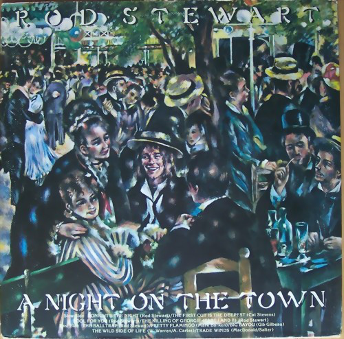 1976 Rod Stewart – A Night On The Town