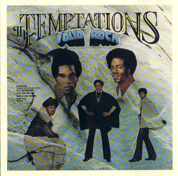 1972 The Temptations – Solid Rock